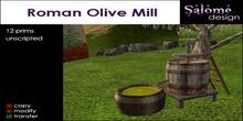 Roman Olive Mill