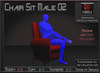 Seating *Chair Sit Male 02* Animations for Builders