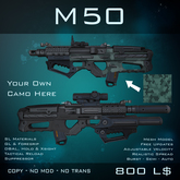 [BW] M50 - Heavy Assault Rifle
