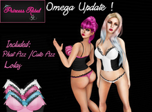 Princess Rebel - Candy Coated Lingerie - Tuxedo - UPDATED! with Omega System Appliers