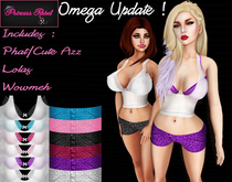 Princess Rebel - Summer Outfit - UPDATED with Omega System Appliers