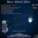 Magic Wooden Wand