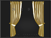 T-3D Creations [ Curtain Display 003 ]  Gold and Silver / Regular MESH - Full Perm -