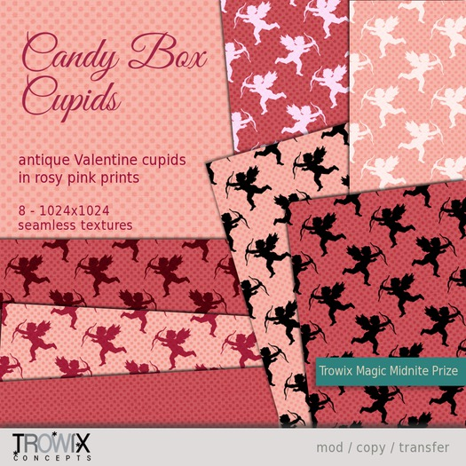 Trowix - Candy Box Cupids Textures
