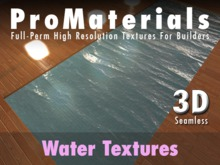 ProMaterials - Full Perm Animated Realistic Water Texture Set