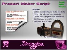 [.Shuggles.] Product Maker FULL PERM