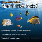 海洋魚 - パック3(フリースイミング)