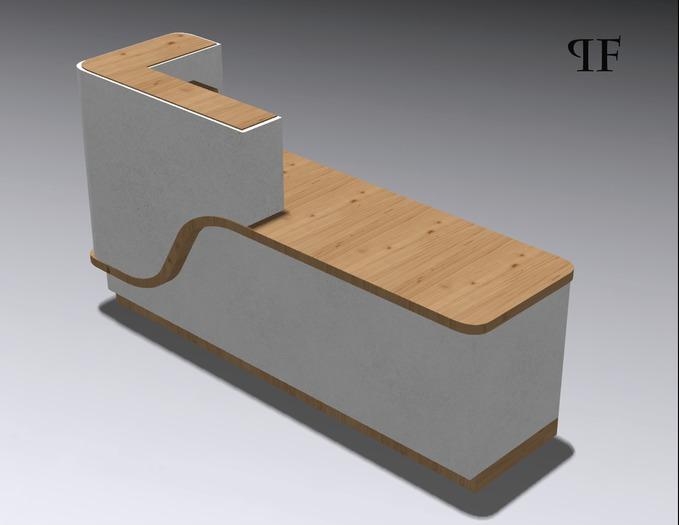 Reception desk 003