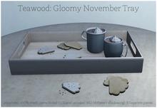 Teawood: Gloomy November Tray