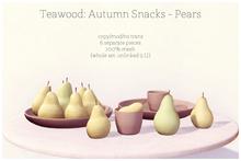 Teawood: Autumn Snacks - Pears