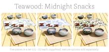 Teawood: Midnight Snack / TOILE