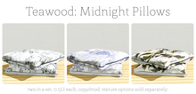 Teawood: Midnight Pillow / TOILE