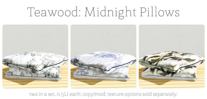 Teawood: Midnight Pillow / BLUES