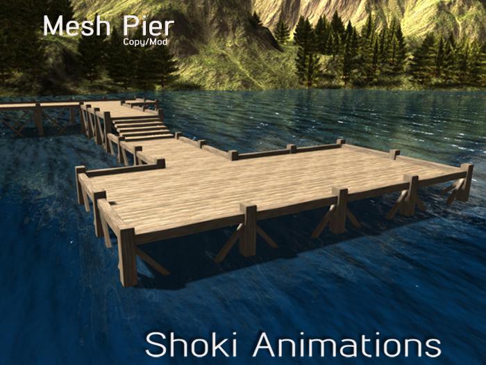 Pier Set - Mesh - Modular