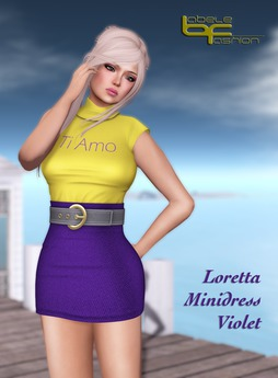 Babele Fashion :: Loretta Minidress Violet