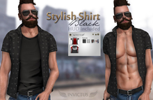 INVICTUS - Stylish Shirt - Black