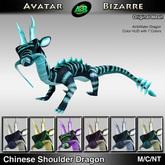 AB Chinese Dragon Shoulder Pet w/Color HUD Air&Water
