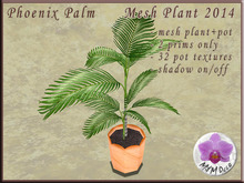 !MM! Mesh Plant 2014 Bird of Paradise