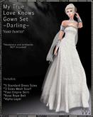!!TWA!! My True Love Knows Gown Set-Darling