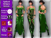 [TKS] Complete - Spiked Stripes - Green
