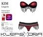 Klepsydra - Kim Lingerie Berry-Appliers