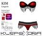 Klepsydra - Kim Lingerie Red-Appliers