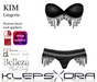 Klepsydra - Kim Lingerie Black-Appliers