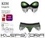 Klepsydra - Kim Lingerie Green-Appliers