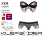 Klepsydra - Kim Lingerie Lilac - Appliers