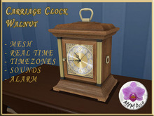 Carriage Clock Walnut