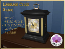Carriage Clock Black