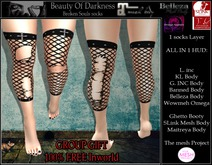 -BOD- Broken Souls Socks