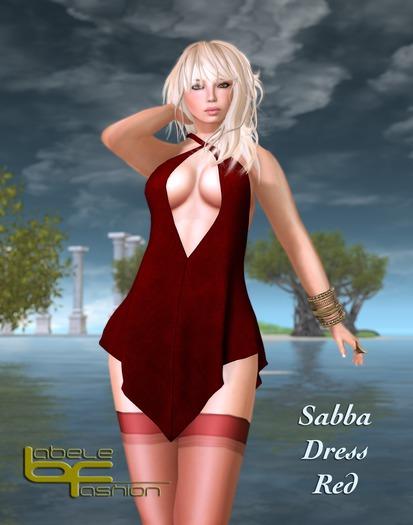 Babele Fashion :: Sabba Dress Red