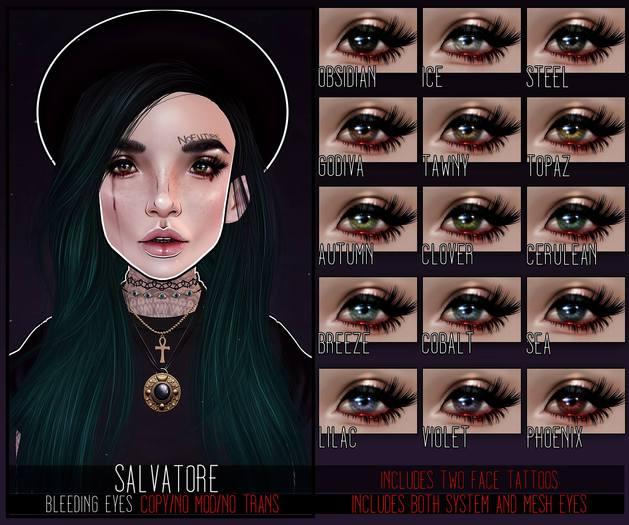 .random.Matter. - Salvatore Eyes - Bloody - Steel