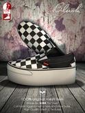Bleich - Mesh Unisex Slip-On Checkers [SLINK FLAT]