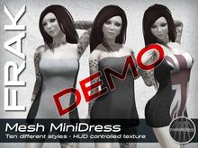 FRAK - Mesh MiniDress - DEMO