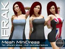 FRAK - Mesh MiniDress