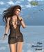 Babele Fashion :: Zipp Minidress Brown