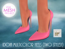 [IF] Idoia Multicolor Heels for The Mesh Project