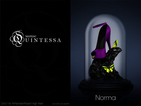 . ManiacQuintessa . NORMA pumps ~ #TheMeshProject [High]