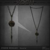 KOSH- STUDENI NECKLACE [bocote]