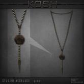 KOSH- STUDENI NECKLACE [pine]