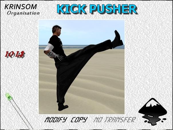 [ K.0 ] KICK PUSHER