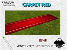 [ K.0 ] CARPET RED (box)
