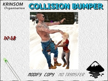 [ K.0 ] COLLISION BUMPER ANIMATION ARM STRANGER CRAZY