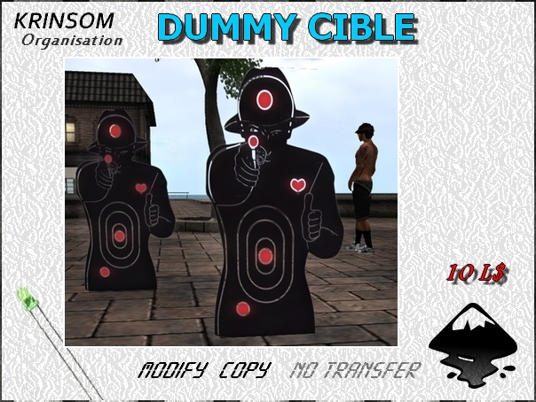 [ K.0 ] DUMMY CIBLE MAN