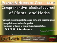 Complete Study of Plants and Herbs of Gor