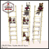 Special price Valentine's Day !! Follow US !! Ivory - Valentine ladders collection COPY