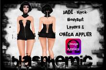 JADE BODYSUIT -black - by BLASPHEMIC w Omega Applier - WEAR!