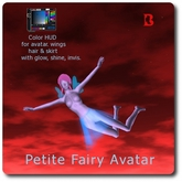 Blackburns Petite Fairy Rigged Mesh Avatar